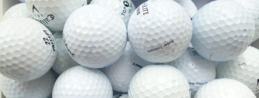 billige Golfbälle - Lakeballs