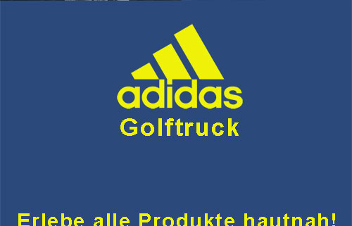 adidas Golftruck Plakat