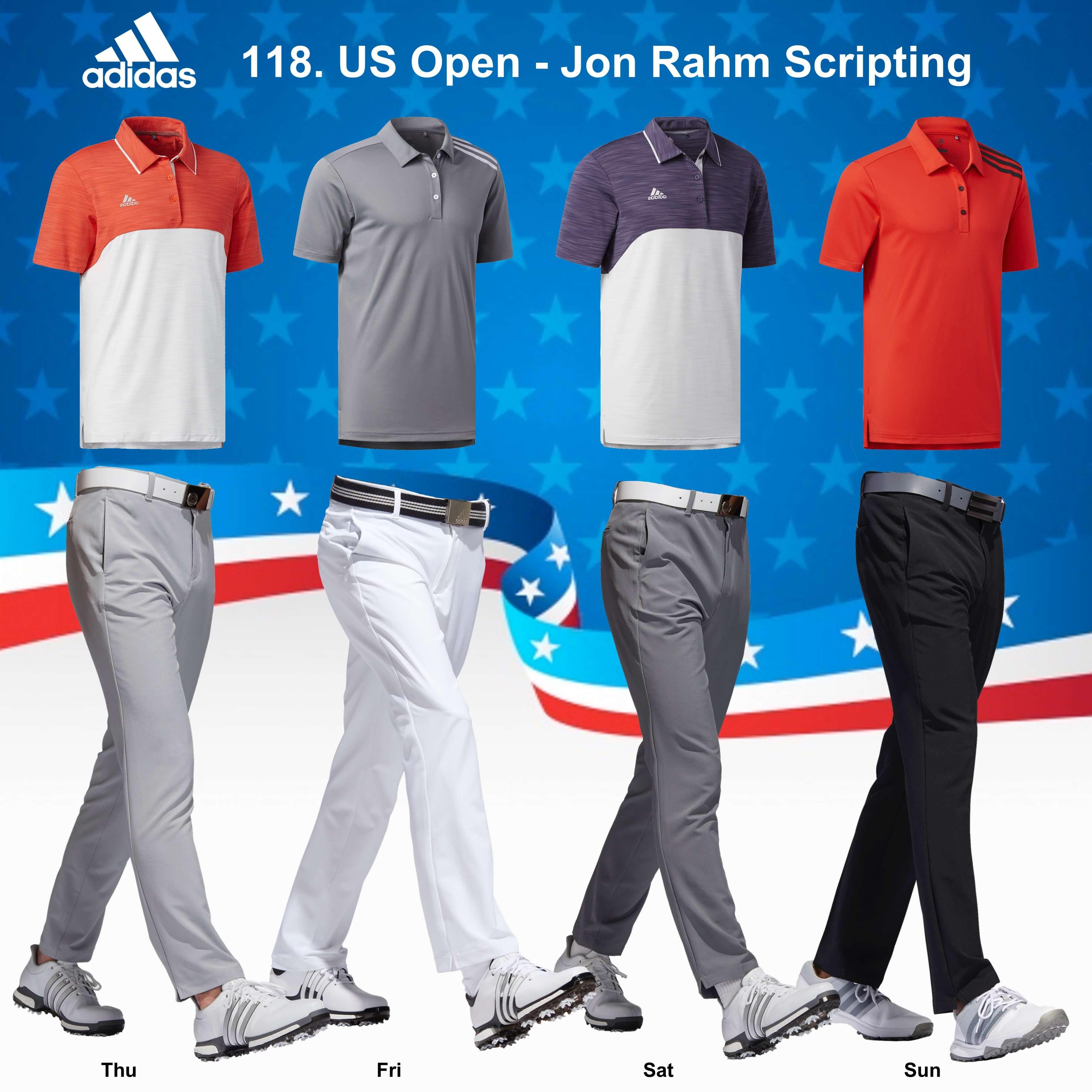 Jon Rahm 118. US Open Scripting