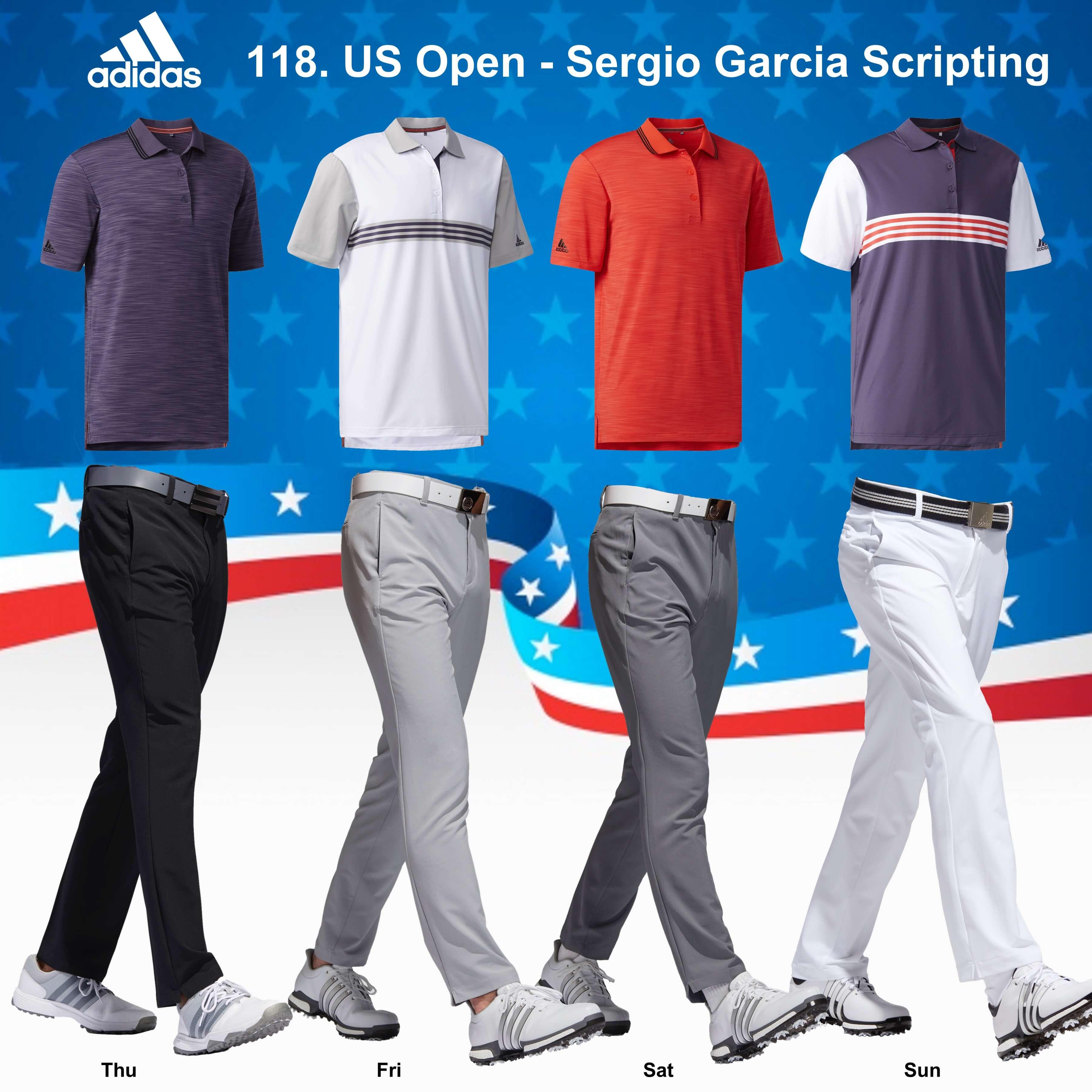 Sergio Garcia 118. US Open Scripting